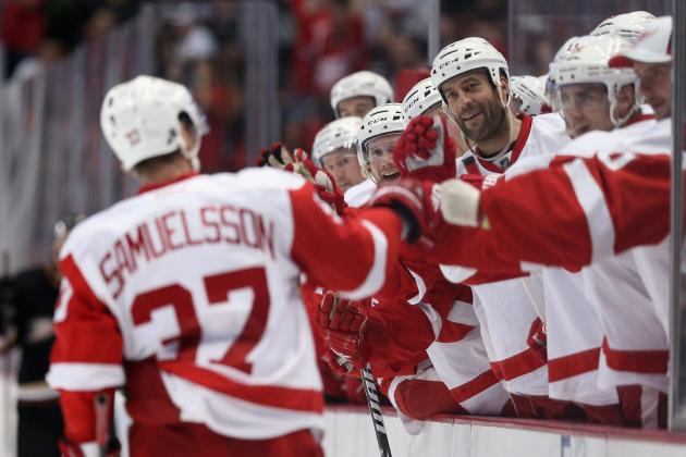Detroit Red Wings Salary Cap Situation: Mikael Samuelsson's Value