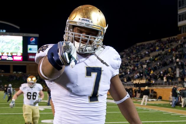 Notre Dame Football: Stephon Tuitt Will Contend for Heisman Trophy This Season