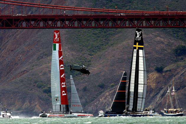 Luna Rossa Takes 2nd Race of LV Cup Semis