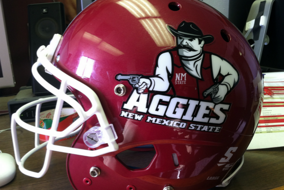College Football: New Mexico State Gets Impressive New Helmets