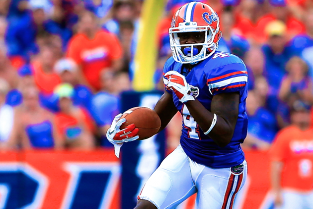 Florida WR Andre Debose out for Season with ACL Injury