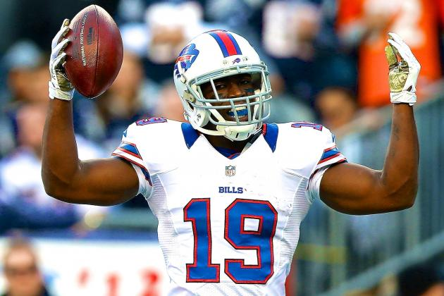 Former Bills, Patriots WR Donald Jones Retires at Age 25 Due to Kidney Disease