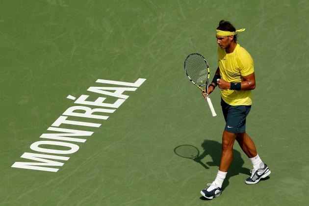 Rafael Nadal Will Use Early Rogers Cup Success for Strong Hard-Court Season