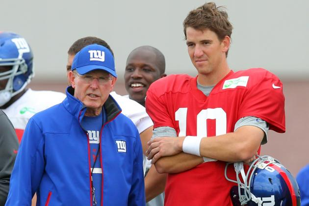 Tom Coughlin Explains Why Giants Don't Invite Other Teams in for Joint Practices