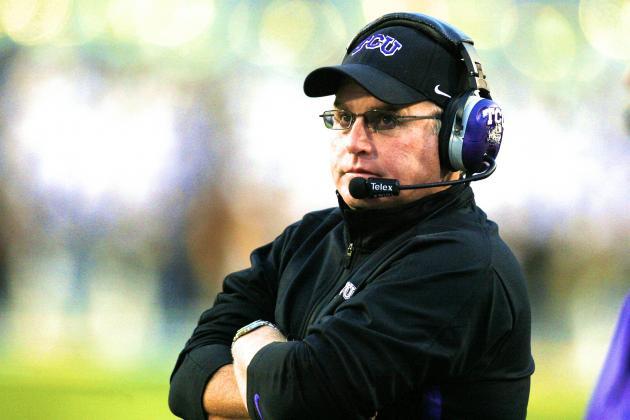 TCU Coach Gary Patterson Criticizes Les Miles' Reinstatement of RB Jeremy Hill