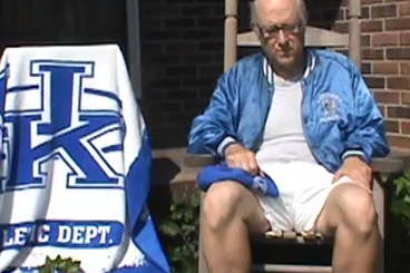 "Video: Kentucky Supporter Sings Ridiculous ""Big Blue Fan"" Song"