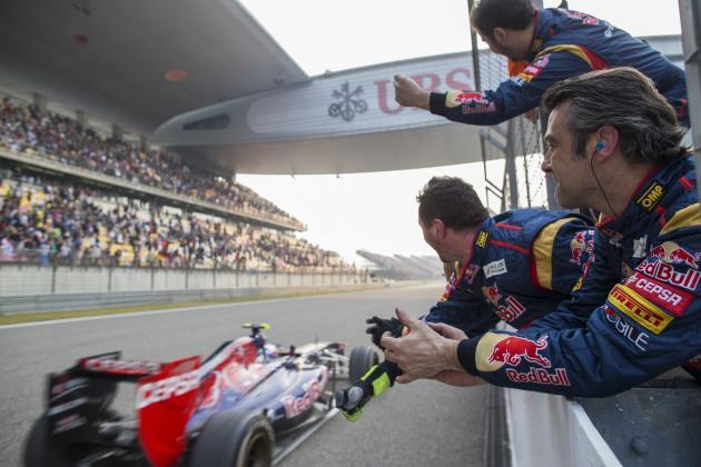 Midseason Report: Grading Toro Rosso's Daniel Ricciardo