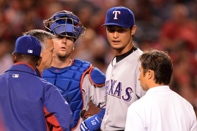 Darvish (Buttocks) Goes Through Normal Routine Day