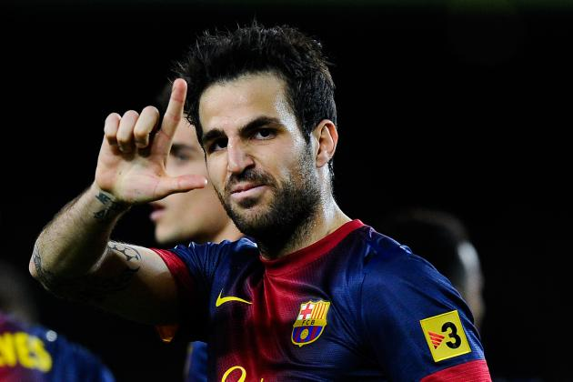 Barcelona Transfer News: Cesc Fabregas Wise to Speak Out About Future with Club