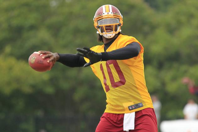 Robert Griffin III: Takeaways After 2 Weeks of Training Camp