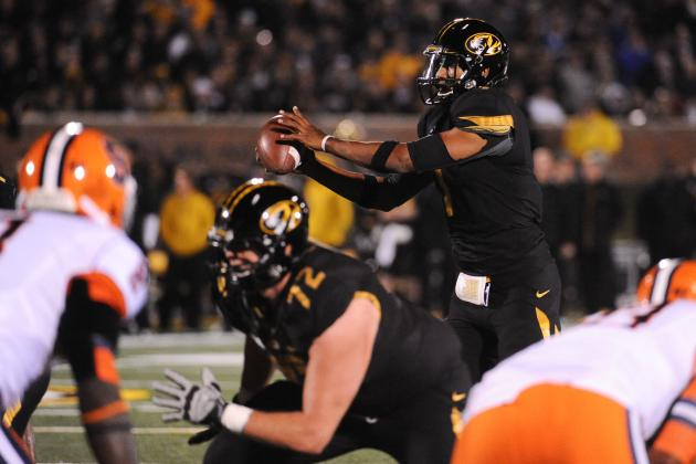 Missouri Offensive Lineman Are Happy, Healthy Group