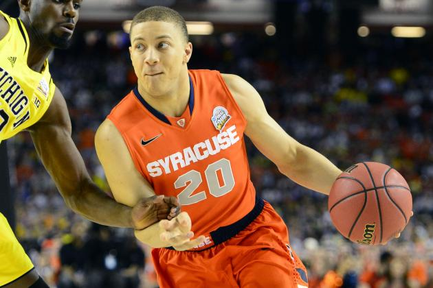 Former Syracuse Basketball Guard Brandon Triche Signs with an Italian Team