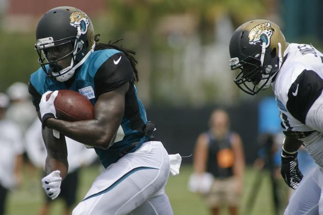 Jaguars' Robinson Switches to College Number