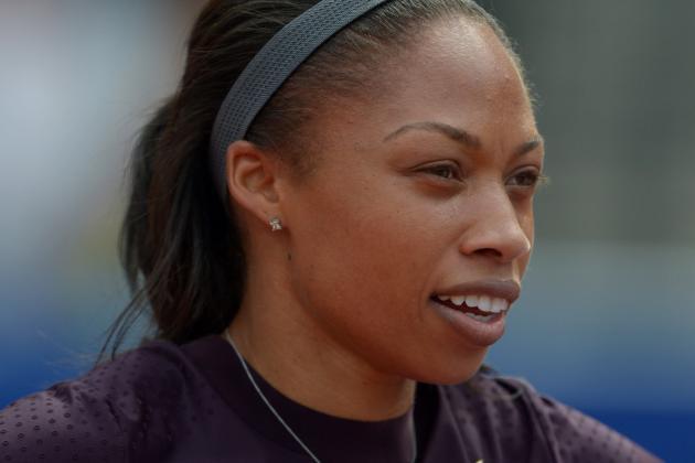 Allyson Felix Could Win 3 Medals at World Championships