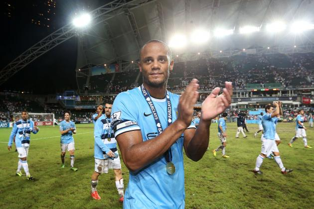 Why School Paid off for Manchester City's Vincent Kompany