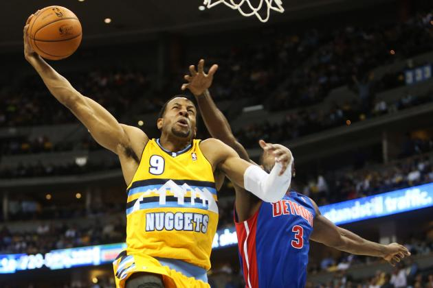Dumars: Detroit Was in 'Good Talks' with Iguodala
