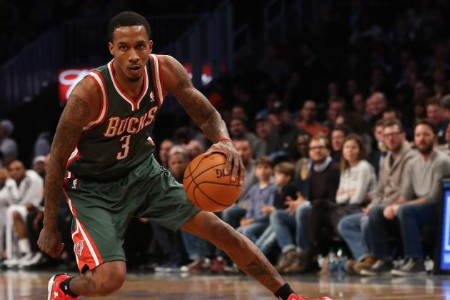 Could Brandon Jennings Work as Detroit Pistons Sixth Man Next Season?