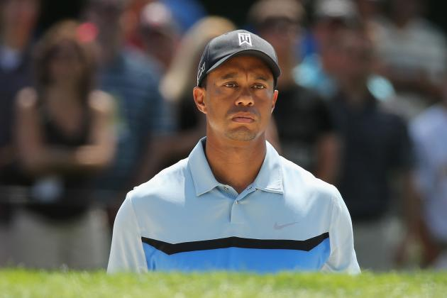 Tiger Woods at PGA Championship 2013 Tracker: Day 1 Score and Highlights