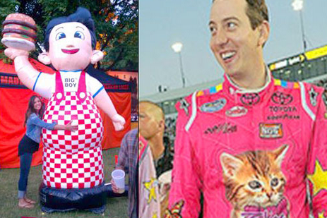 NASCAR Notables and their Celeb Lookalikes