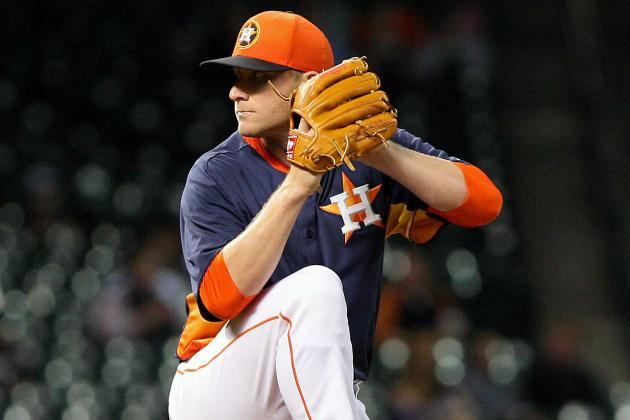 Astros to Designate Travis Blackley for Assignment
