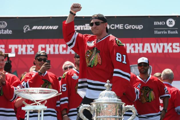 Nick Leddy, Marian Hossa on List of Chicago Blackhawks' Questions