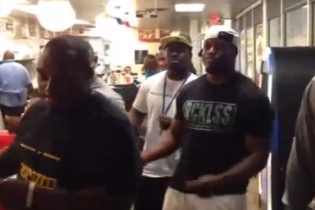 DeAngelo Williams and Other Panthers RBs Sing 'Just My Imagination'