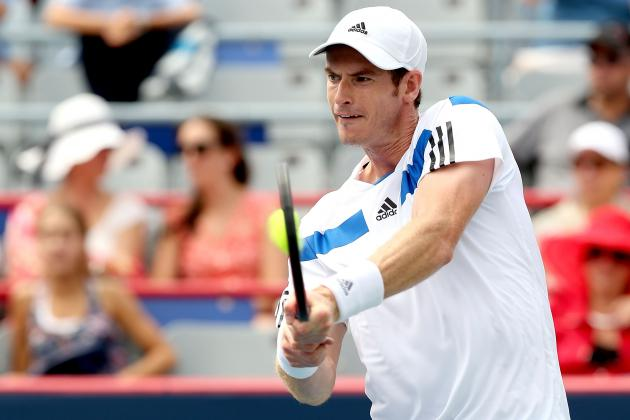 Andy Murray Upset by Ernests Gulbis at 2013 Rogers Cup