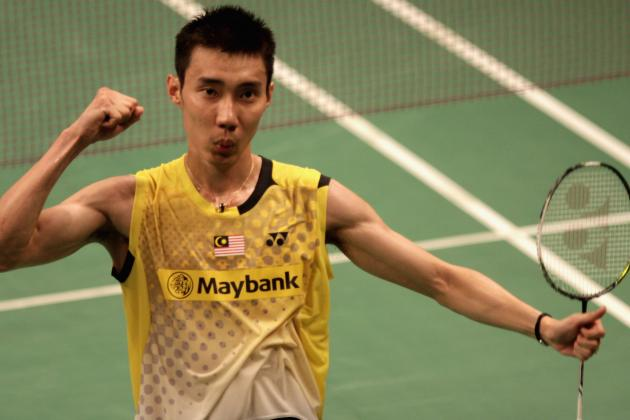 Lee Chong Wei Is on Collision Course with Lin Dan at World Championships