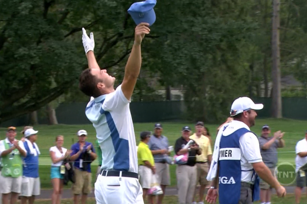 Martin Kaymer's Impressive Eagle from the Fairway on the Par-5 13th