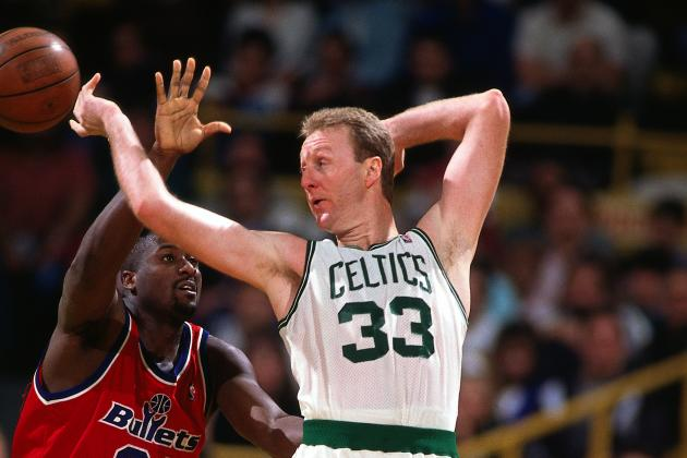 Larry Bird's Incredible Passing Prowess on Display