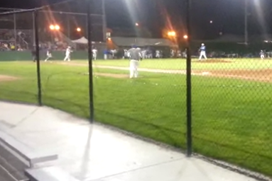 Batter Takes Exception to Ball Thrown at Head, Retaliates with Horrible Bat Toss