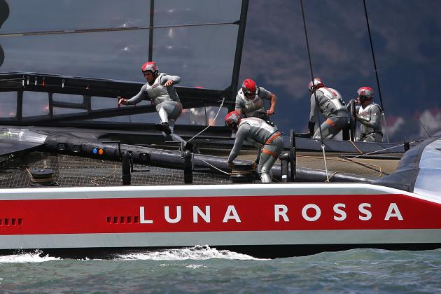 Luna Rossa Sails to 2-0 Lead over Artemis Racing in Americas' Cup Semis