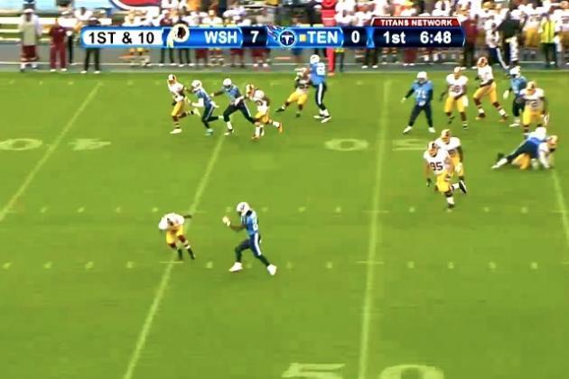 Chris Johnson Breaks 58-Yard TD Run vs. Redskins in Week 1 of NFL Preseason