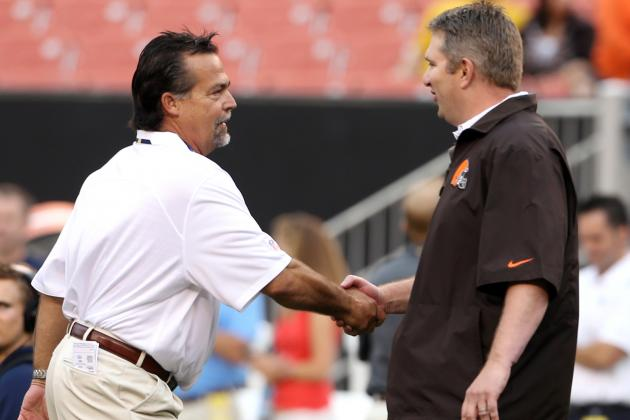 Chudzinski and Weeden Both Pleased with Cleveland Browns Victory over Rams