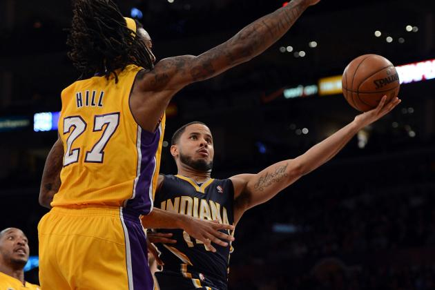Why Jordan Hill Is Best Frontcourt Defender on Lakers Roster