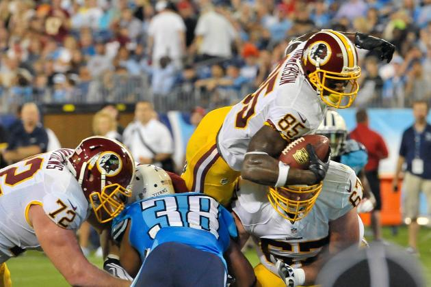 Redskins-Titans: Just The Touchdowns
