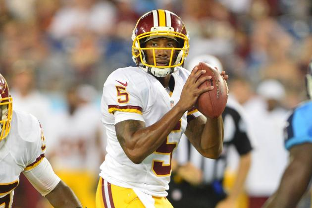 Washington Redskins Now Have Proof They Can Take Their Time with RG3