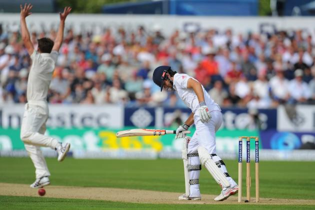England Closes 1st Day of 4th Test at 238-9