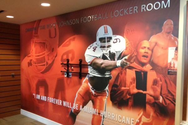 How Miami's New Dwayne 'The Rock' Johnson Locker Room Will Impact Recruiting