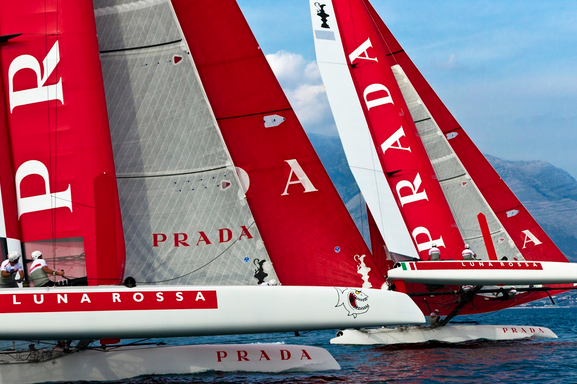 Luna Rossa Is One Race Away from a Sweep