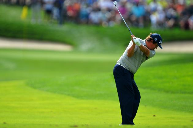 PGA Championship 2013 Leaderboard Day 2: Scores, Standings and Results