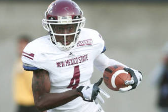 NMSU's Leading Receiver Academically Ineligible, Will Redshirt