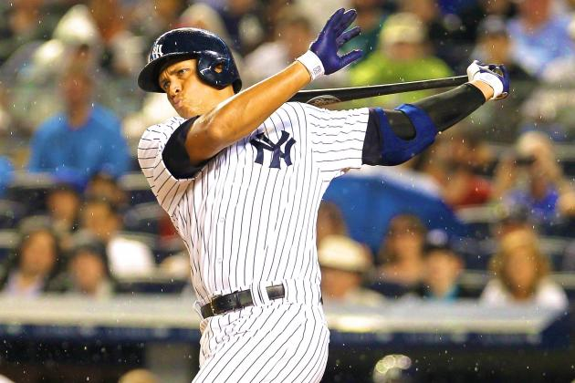 Alex Rodriguez Booed as He Strikes Out in 1st At-Bat in Return to Yankee Stadium