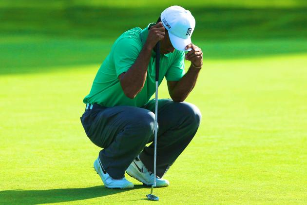 Tiger Woods at PGA Championship 2013: From Firestone Gem to Oak Hill Dud