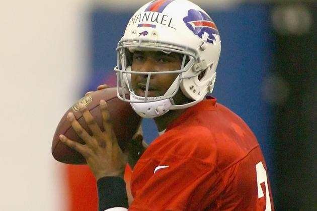 E.J. Manuel to Start Preseason Opener vs. Colts