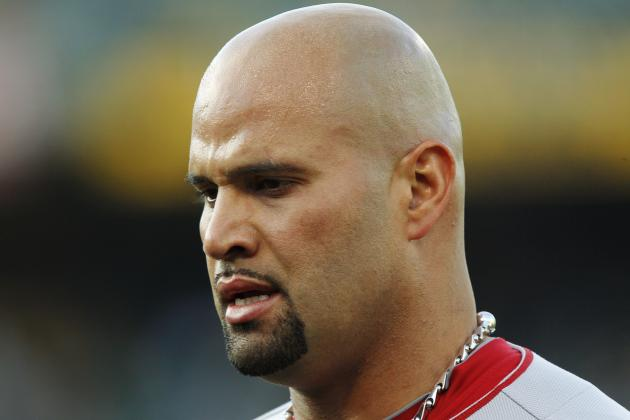 Albert Pujols Angrily Denies PED Use; Plans to Take Legal Action