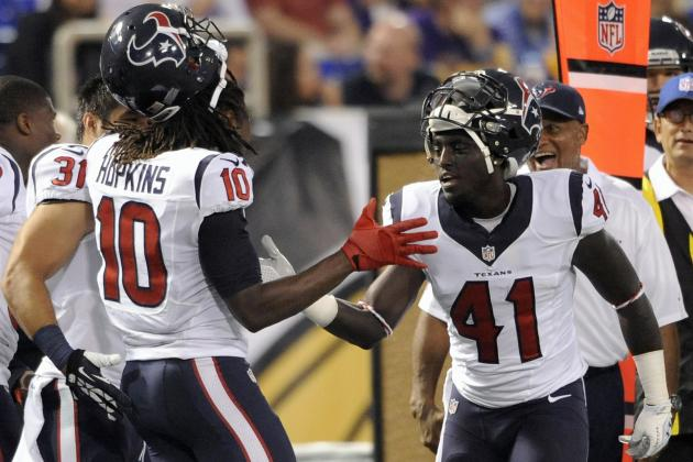 Texans Get Good Effort from Reserves in Win vs. MIN