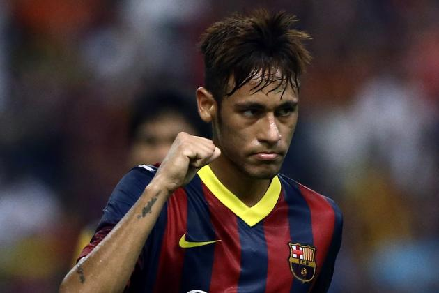 Easing the Pressure: Neymar Puts in Fine 45 Minutes Against Malaysia