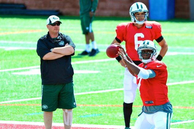 No Clarification in Jets QB Battle After Preseason Week 1 Loss to Detroit Lions