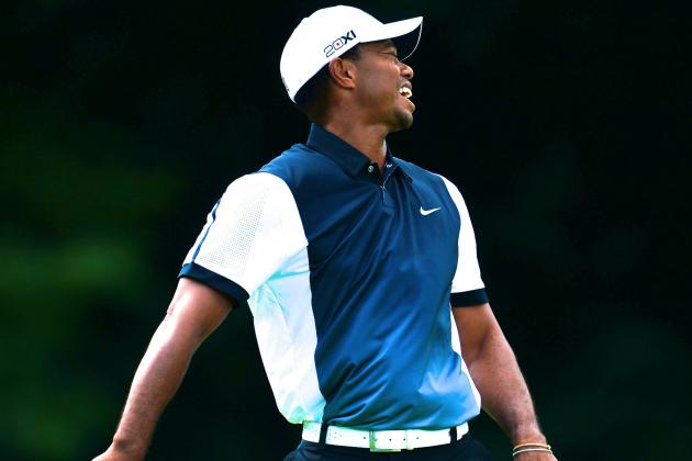 PGA Championship 2013: Tiger Woods and Phil Mickelson No-Show at Oak Hill